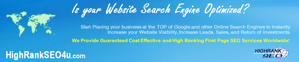 first page high rank seo