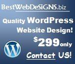 quality wordpress webdesign